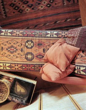 Hemmiljö med orientalisk stil