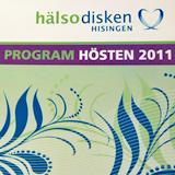 Hälsodisken Hisingen, höstprogram
