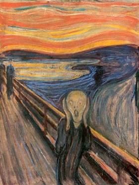 Edward Munch är en av många konstnärer som skildrat panikångest i bild.