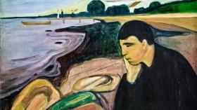 Norske konstnären Edward Munch skildrade bland annat tillstånd av depression i sin konst.