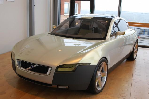 En bil designad av några kvinnliga ingenjörer som arbetade med ett framtidskoncept.
