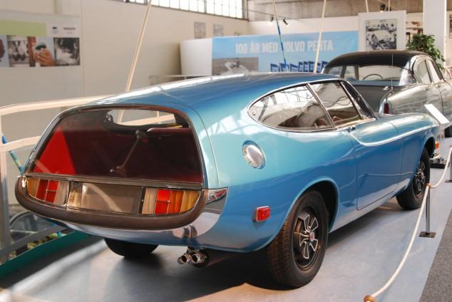 Många konceptbilar, som den här raketbilen från 70-talet, kom aldrig igenom fabriksbanden utan stannade i prototypstadiet.