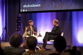 Niklas Orrenius har skrivit om den kontroversielle konstnären Lars Vilks. Foto: Tatiana Madrid.